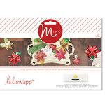 Heidi Swapp - MINC Collection - Christmas - Decor - Poinsettia Kit