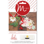 Heidi Swapp - MINC Collection - Christmas - Paper Snowflakes