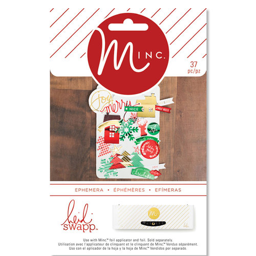 Heidi Swapp - MINC Collection - Christmas - Ephemera