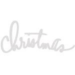 Heidi Swapp - Oh What Fun Collection - Christmas - Glitter Wall Words - Christmas