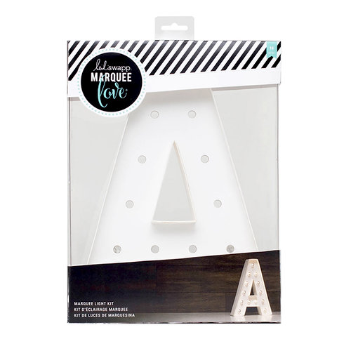 Heidi Swapp - Marquee Love Collection - Marquee Kit - 12 Inches - Letter A