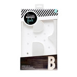 Heidi Swapp - Marquee Love Collection - Marquee Kit - 12 Inches - Letter B