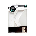 Heidi Swapp - Marquee Love Collection - Marquee Kit - 12 Inches - Letter K