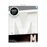Heidi Swapp - Marquee Love Collection - Marquee Kit - 12 Inches - Letter M