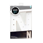 Heidi Swapp - Marquee Love Collection - Marquee Kit - 12 Inches - Letter N