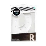Heidi Swapp - Marquee Love Collection - Marquee Kit - 12 Inches - Letter R