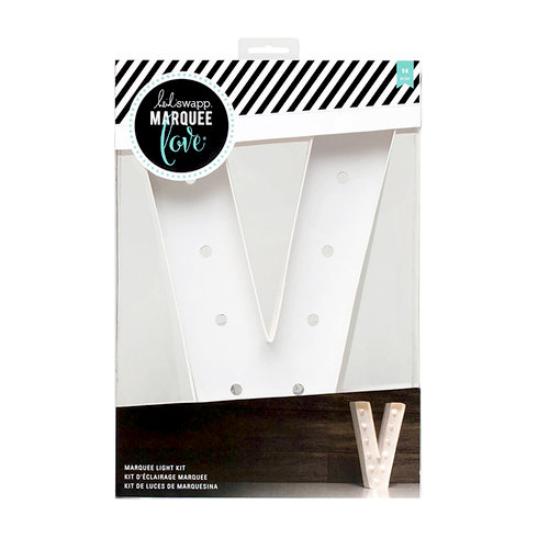 Heidi swapp marquee love letter v 12 inch marquee kit for Heidi swapp marquee letters 12 inch