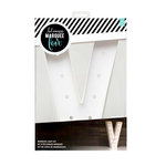 Heidi Swapp - Marquee Love Collection - Marquee Kit - 12 Inches - Letter V