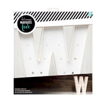 Heidi Swapp - Marquee Love Collection - Marquee Kit - 12 Inches - Letter W