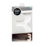 Heidi Swapp - Marquee Love Collection - Marquee Kit - 12 Inches - Number 3