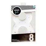 Heidi Swapp - Marquee Love Collection - Marquee Kit - 12 Inches - Number 8