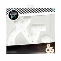 Heidi Swapp - Marquee Love Collection - Marquee Kit - 12 Inches - Ampersand Shape