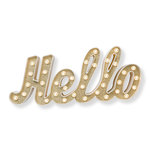 Heidi Swapp - Marquee Love Collection - Marquee Kit - Plastic - Hello