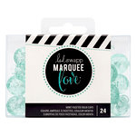 Heidi Swapp - Marquee Love Collection - Extra Bulb Caps - Etched Mint