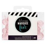 Heidi Swapp - Marquee Love Collection - Extra Bulb Caps - Etched Pink