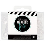 Heidi Swapp - Marquee Love Collection - Bulb Caps - Etched - Clear