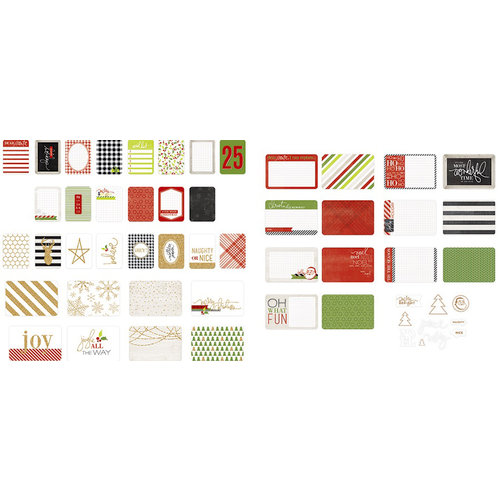 Becky Higgins - Project Life - Heidi Swapp Collection - Christmas - Value Kit - Oh What Fun - Christmas