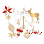 Heidi Swapp - Oh What Fun Collection - Christmas - Wood Veneer Shapes