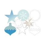Becky Higgins - Project Life - Heidi Swapp Collection - Christmas - Die Cut Transparency Shapes - Winter