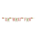 Heidi Swapp - Oh What Fun Collection - Christmas - Glitter Banners - Oh What Fun