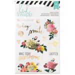 Heidi Swapp - Memory Planner - Clear Stickers - Floral