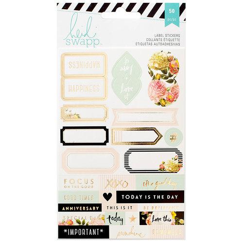 Heidi Swapp - Memory Planner - Cardstock Stickers - Labels