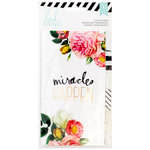 Heidi Swapp - Memory Planner - Personal Planner - Dividers - Gold Foil - Clear