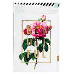 Heidi Swapp - Memory Planner - Dividers - Large - Gold Foil - Clear