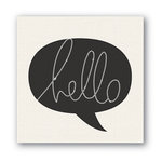 Heidi Swapp - Marquee Love Collection - Canvas - Fiberoptic - Hello