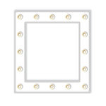 Heidi Swapp - Marquee Love Collection - Frame - Small - White
