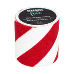 Heidi Swapp - Marquee Love Collection - Washi Tape - Glitter Red Stripe - 2 Inches Wide