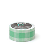 Heidi Swapp - Marquee Love Collection - Washi Tape - Mint Gingham - 0.875 Inches Wide
