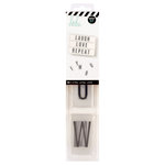 Heidi Swapp - LightBox Collection - Alpha Inserts - Black