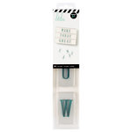 Heidi Swapp - LightBox Collection - Alpha Inserts - Teal