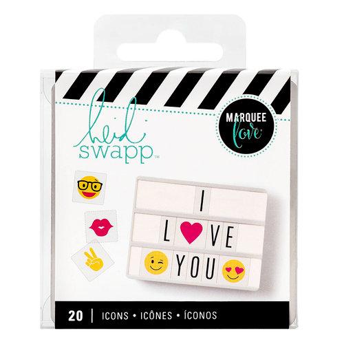 Heidi Swapp - LightBox Collection - Icon Inserts - Emoji