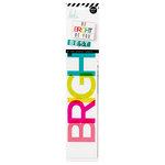 Heidi Swapp - LightBox Collection - Word Strips - Everyday