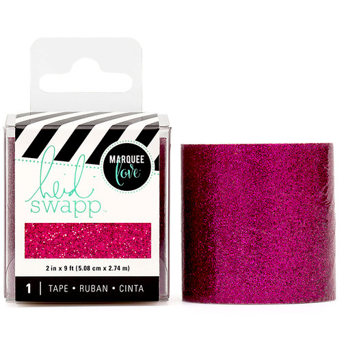 Heidi Swapp - LightBox Collection - Tape - Pink Glitter - 2 Inches