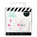 Heidi Swapp - LightBox Collection - Icon Inserts - Pink
