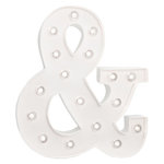 Heidi Swapp - Marquee Love Collection - Marquee Kit - 10 Inches - Ampersand