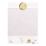 Heidi Swapp - MINC Collection - Surfaces - Vellum - 8.5 x 11
