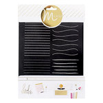 Heidi Swapp - MINC Collection - Art Screen - Lines