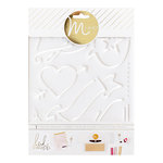 Heidi Swapp - MINC Collection - Tracing Template - Love