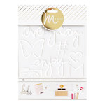 Heidi Swapp - MINC Collection - Tracing Template - Enjoy