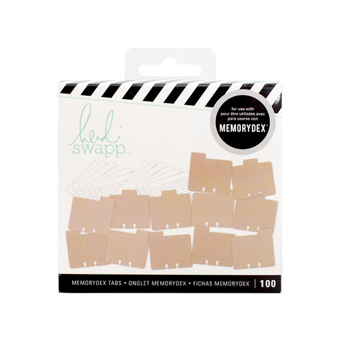 Heidi Swapp - Memorydex - Kit - Kraft