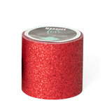 Heidi Swapp - Marquee Love Collection - Washi Tape - Glitter Cherry - 2 Inches Wide