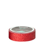 Heidi Swapp - Marquee Love Collection - Washi Tape - Glitter Cherry - 0.875 Inches Wide