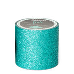 Heidi Swapp - Marquee Love Collection - Washi Tape - Glitter Aqua - 2 Inches Wide