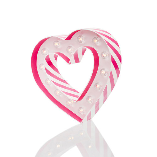 Heidi Swapp - Marquee Love Collection - Marquee Kit - 8 Inches - Heart