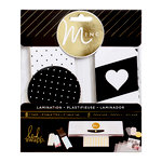 Heidi Swapp - MINC Collection - Lamination - Tags - Black