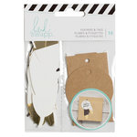 Heidi Swapp - Embellishments - Feathers and Tags